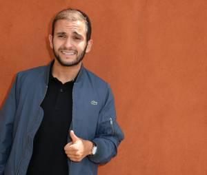 Malik Bentalha au Village Roland Garros le 3 juin 2015