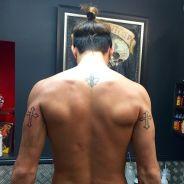 Thomas Vergara torse nu sur Instagram pour dévoiler un nouveau tatouage