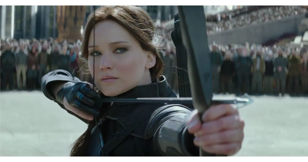 katniss rebellion Jennifer lawrence's katniss everdeen is ready for battle in red suit and cape as she leads rebellion in new mockingjay - part 2 teaser by kayla caldwell for mailonline.