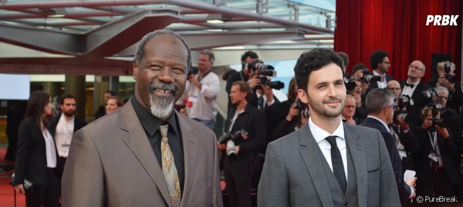 Jean Michel Martial et Raphaël Ferret (Profilage) à la cérémonie d'ouverture du 55ème Festival de télévision de Monte Carlo, le 13 juin 2015
