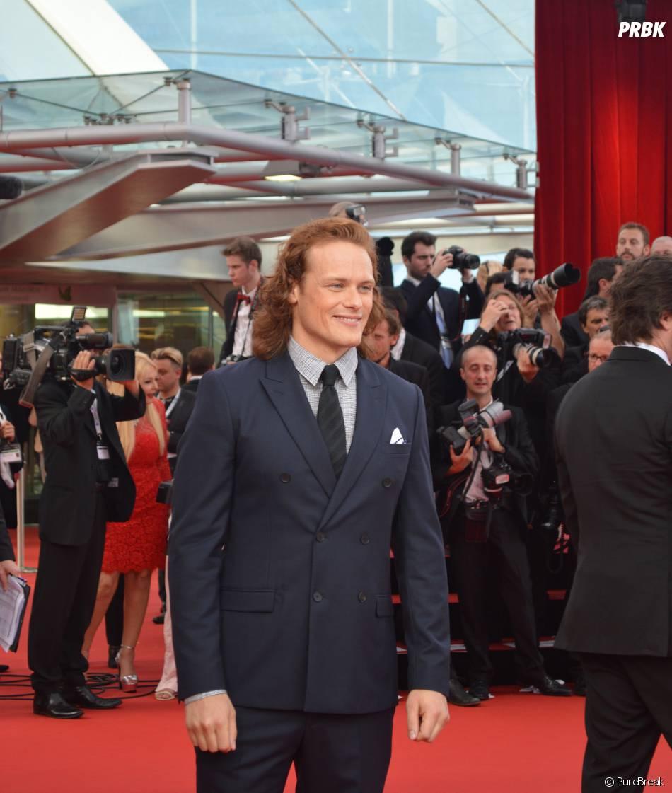 Sam Heughan à la cérémonie d'ouverture du 55ème Festival de télévision de Monte Carlo, le 13 juin 2015