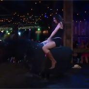 Douchka (Las Vegas Academy) : rodéo sans culotte, elle montre tout !