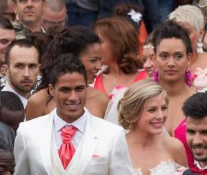 Raphaël Varane et Camille Tytgat : mariage et foule au Touquet, le 20 juin 2015
