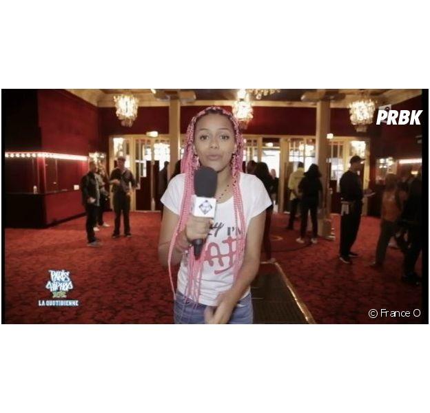 Salomé Je t'aime aux commandes de Paris Hip Hop 2015, la quotidienne