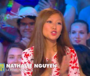 Nathalie Nguyen bizutée par Julien Courbet pour sa première de chroniqueuse dans TPMP