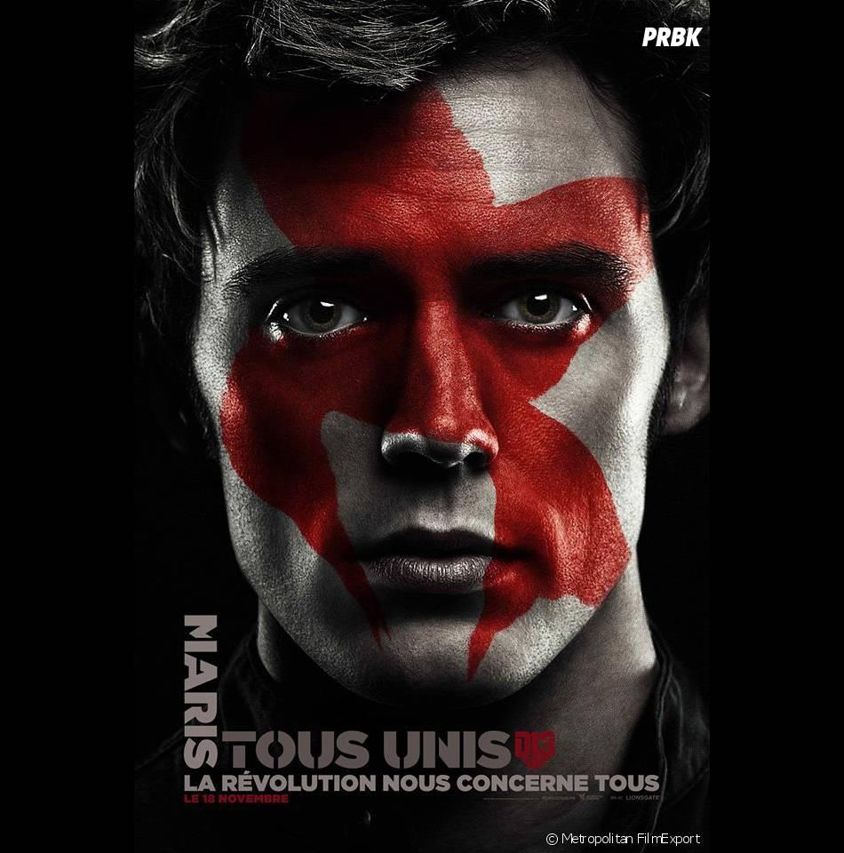 Hunger Games 4 : l'affiche de Finnick