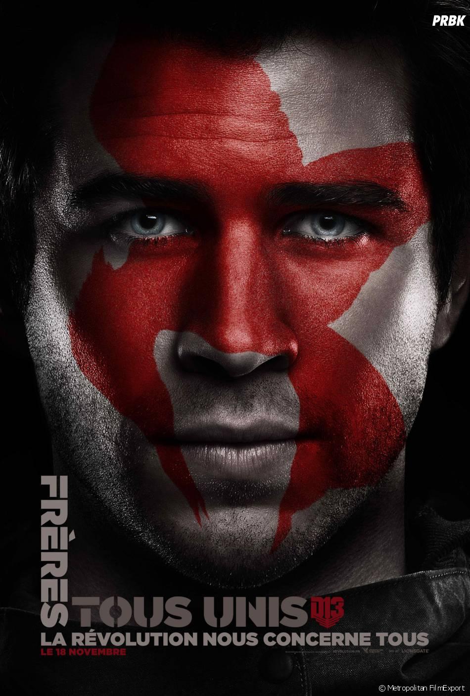 Hunger Games 4 : l'affiche de Gale