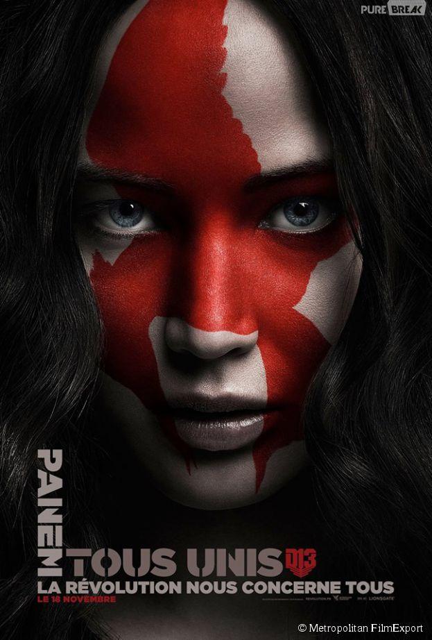 Hunger Games 4 : l'affiche de Katniss