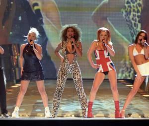 Les Spice Girls aux Brit Awards, le 24 février 1997