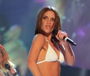 Victoria Beckham avec les Spice Girls aux Brit Awards, le 24 février 1997