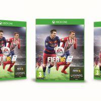 FIFA 16 : Antoine Griezmann rejoint Lionel Messi sur la pochette française du jeu