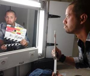 Ambroise Michel : l'ex Rudy de Plus belle la vie sur le tournage de Cut !