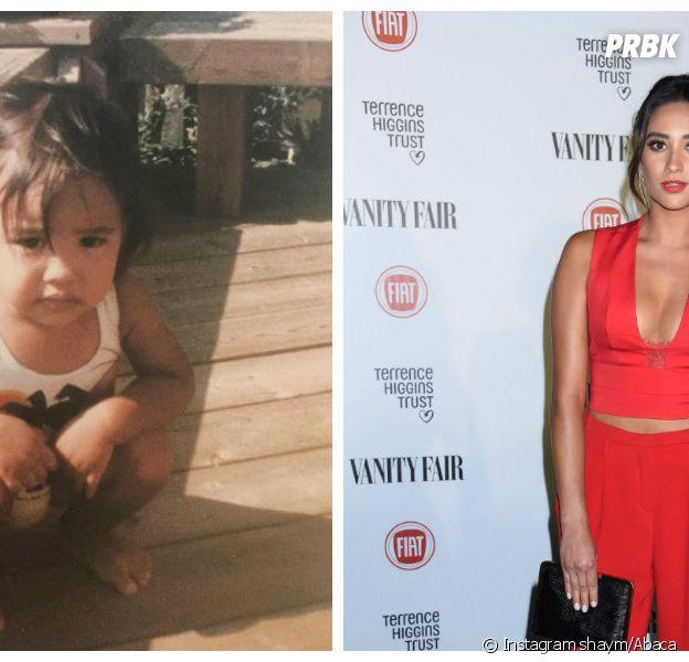 Shay Mitchell : l'actrice de Pretty Little Liars dévoilé une photo d'enfance sur Instagram, le 24 juillet 2015
