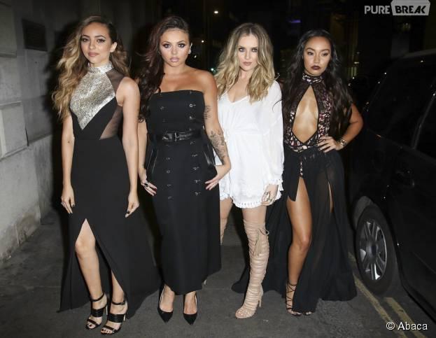 Les Little Mix à Londres, le 20 juillet 2015