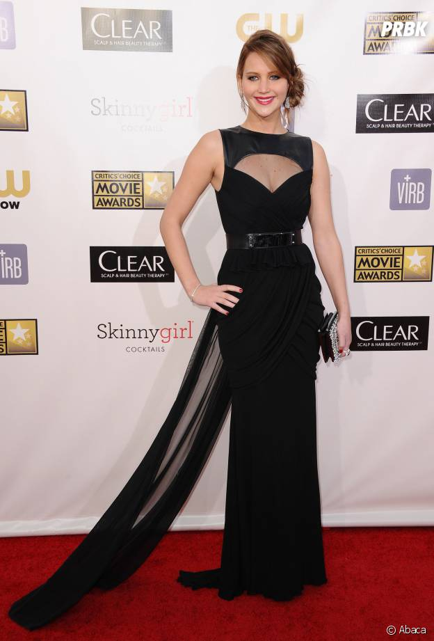 Jennifer Lawrence aux Critic's Choice Awards 2013