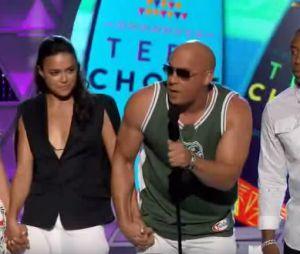 Paul Walker : Vin Diesel et les stars de Fast & Furious 7 lui rendent hommage lors des Teen Choice Awards 2015