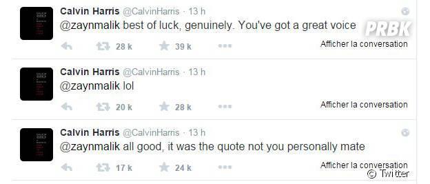 Zayn Malik VS Calvin Harris