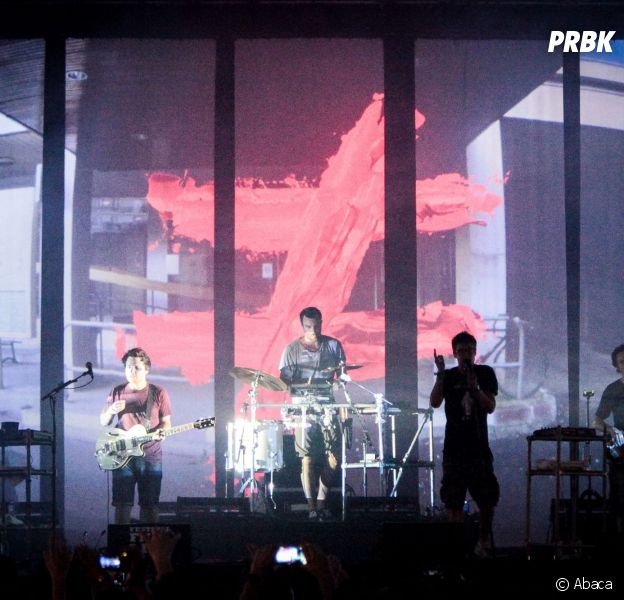 Fauve sur la scène du FNAC Live Festival, le 19 juillet 2014
