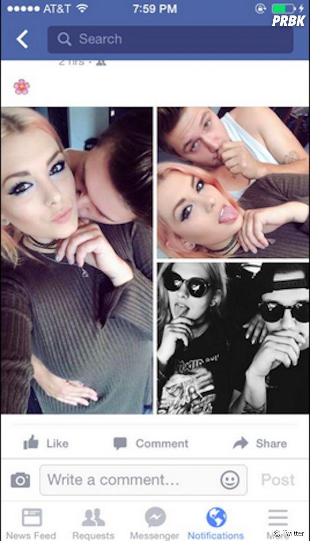 Des parents américains font le buzz sur Twitter en parodiant les selfies de leur adolescente, septembre 2015