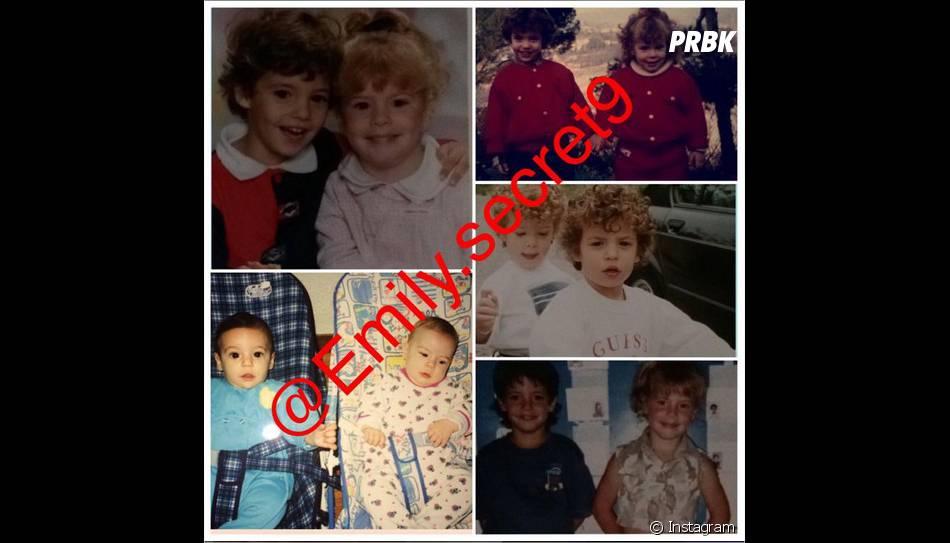 Emilie et Loïc (Secret Story 9) : des photos des jumeaux enfants