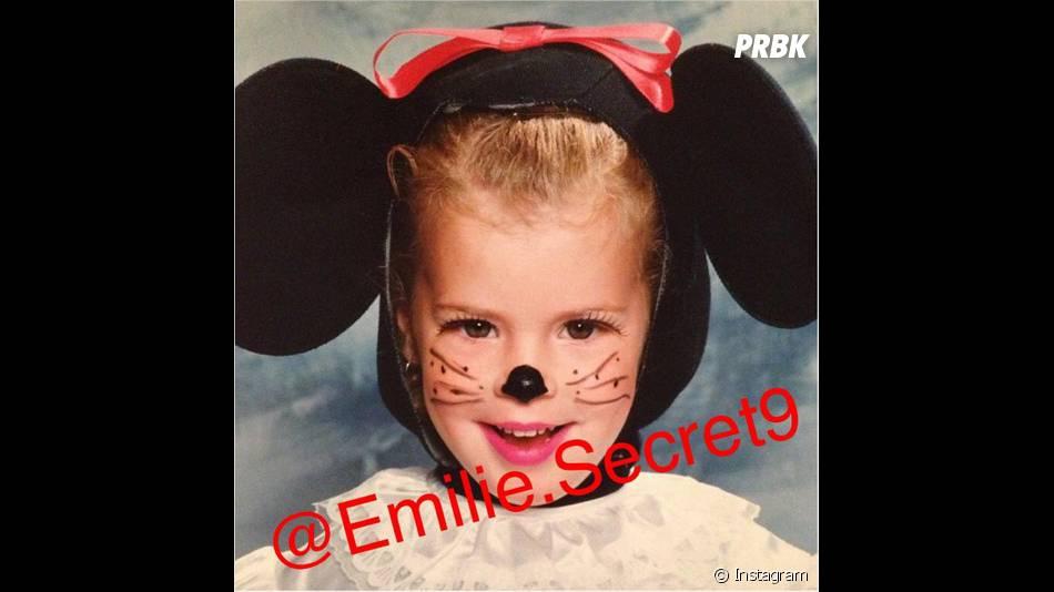 Emilie (Secret Story 9) enfant sur Instagram