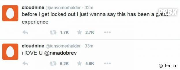 Ian Somerhalder : son compte Twitter piraté