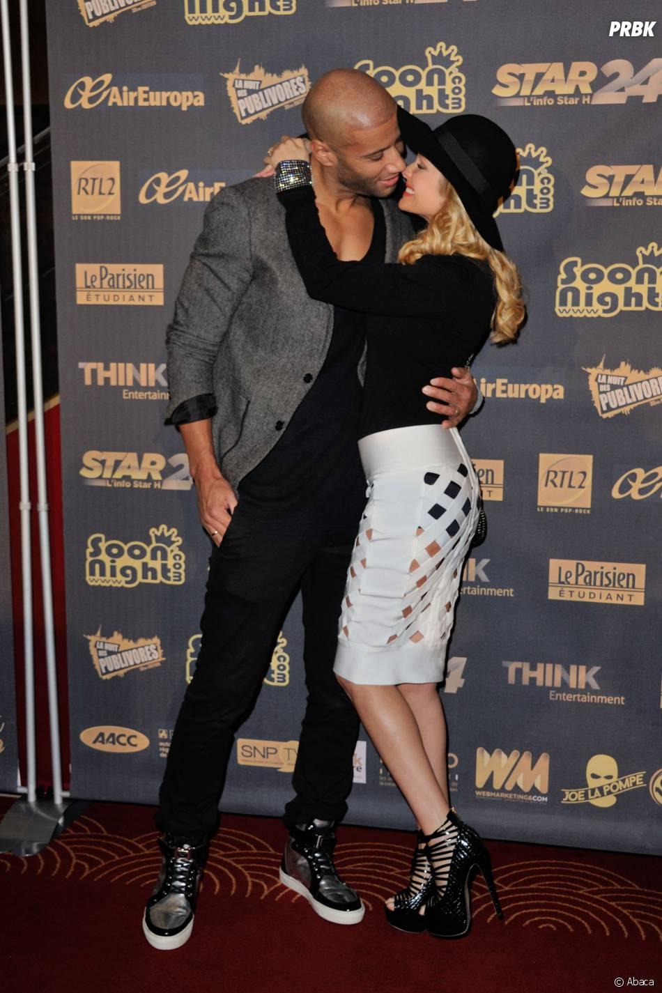 Tatiana Laurens et Xavier Delarue à la Nuit des Publivores 2015 au Grand Rex à Paris, le 17 septembre 2015