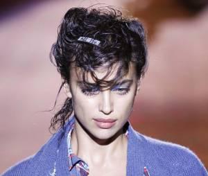 Irina Shayk défile à New York pour la Fashion Week en septembre 2015
