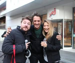 Bruno Guillon : pour la journée de la paix, l'animateur de Fun Radio a enterré la hache de guerre avec Vincent Cerutti de Chérie FM
