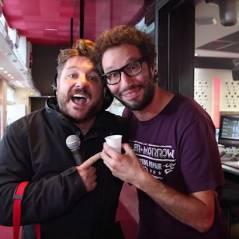 Bruno Guillon paie son café à Camille Combal, Difool et Manu du 6/9 pour la Journée de la paix