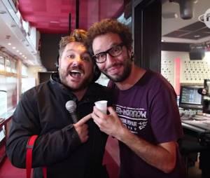 """Bruno Guillon : pour la journée de la paix, l'animateur de Fun Radio a payé un café à ses """"concurrents"""""""