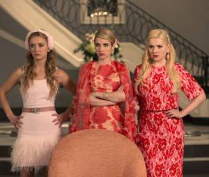 Scream Queens : Emma Roberts et Abigail Breslin sur une photo