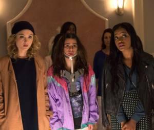 Scream Queens : Skyler Samuels, Lea Michele et Keke Palmer sur une photo
