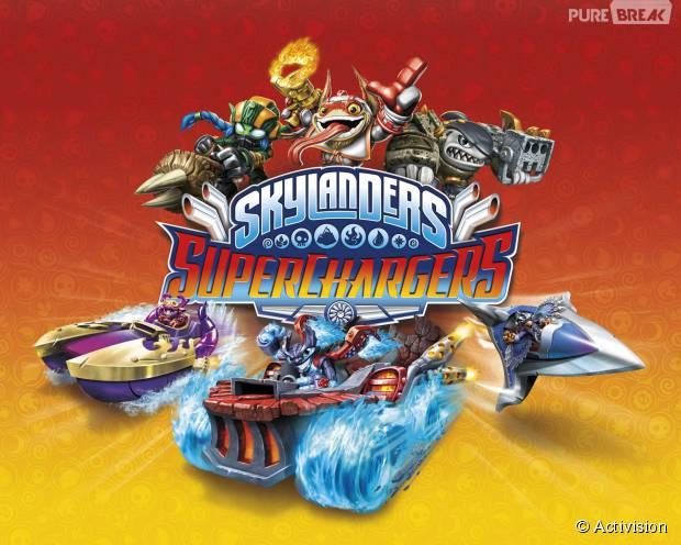 Skylanders Superchargers est disponible depuis le 25 septembre 2015