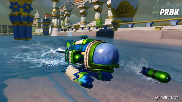 Skylanders Superchargers : une image du sous-marin