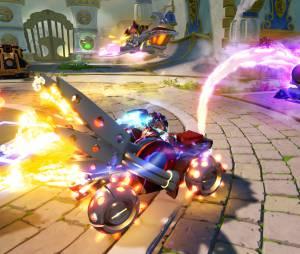 Skylanders Superchargers : une image d'une voiture