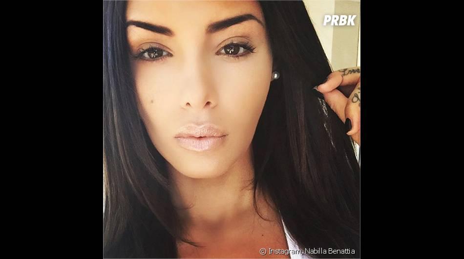 Nabilla Benattia métamorphosée sur Instagram