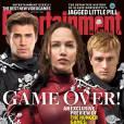 Hunger Games 4 : Liam Hemsworth, Jennifer Lawrence et Josh Hutcherson en couverture de Entertainment Weekly