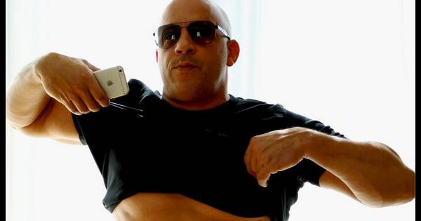 vin diesel trop gros il d voile ses abdos sur instagram en r ponse la photo dossier. Black Bedroom Furniture Sets. Home Design Ideas