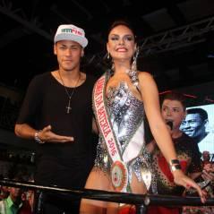 Neymar entouré de filles sexy : son retour (très) festif au Brésil