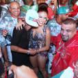Neymar : retour festif au Brésil à la Grande Rio Samba School à Rio de Janeiro le dimanche 11 octobre 2015