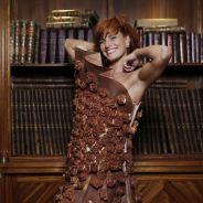 Fauve Hautot : la future jurée de DALS 6 pose en robe en chocolat