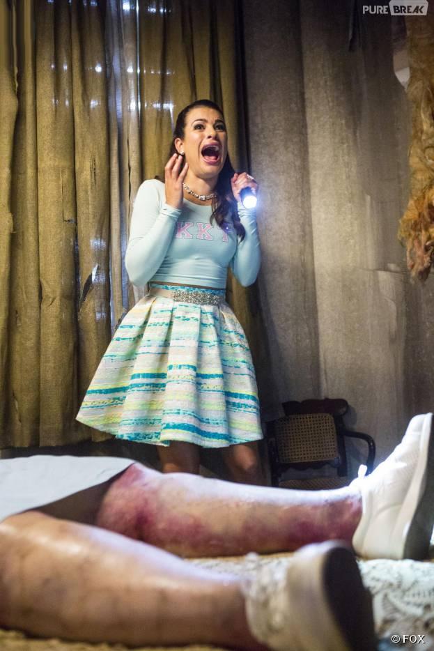 Lea Michele refuse de crier dans Scream Queens