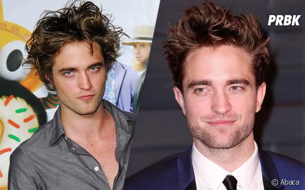 Robert Pattinson en 2008 et aujourd'hui