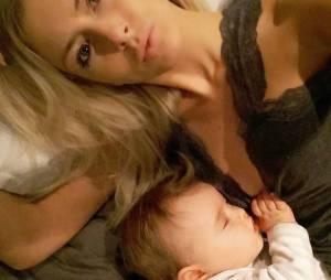 Stéphanie Clerbois complice avec son fils Lyamsur une photo Instagram