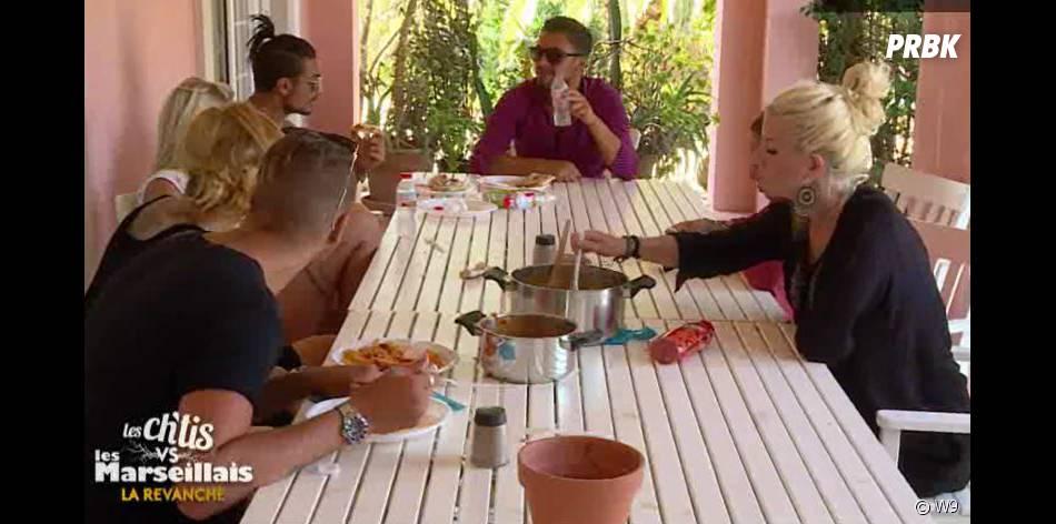 Les Ch'tis VS Les Marseillais : les candidats s'interrogent sur le rapprochement Tressia/Kevin dans l'épisode 41 diffusé le 16 octobre 2015, sur W9