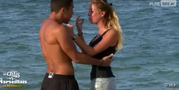 Les Ch'tis VS Les Marseillais : Hillary en larmes à cause du couple Kim/Vincent lors de l'épisode 42 diffusé le 19 octobre 2015, sur W9