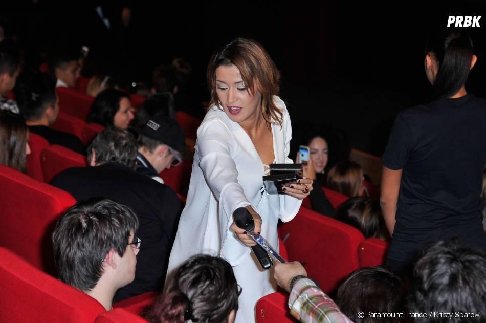 Paranormal Activity 5 : Karima Charni à l'avant-première du film le 20 octobre 2015 à Paris