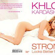 Khloe Kardashian totalement nue : découvrez la couverture hot de son livre