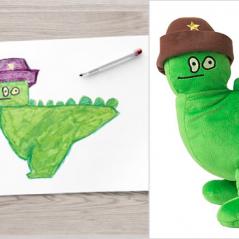Trop cute : des dessins d'enfants deviennent des peluches pour la bonne cause !
